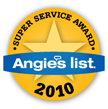 Superior Office Cleaning - Super Service Award 2010