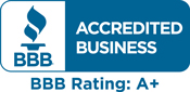 BBB A+ Rating!