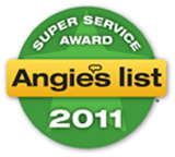 Superior Office Cleaning - Super Service Award 2011
