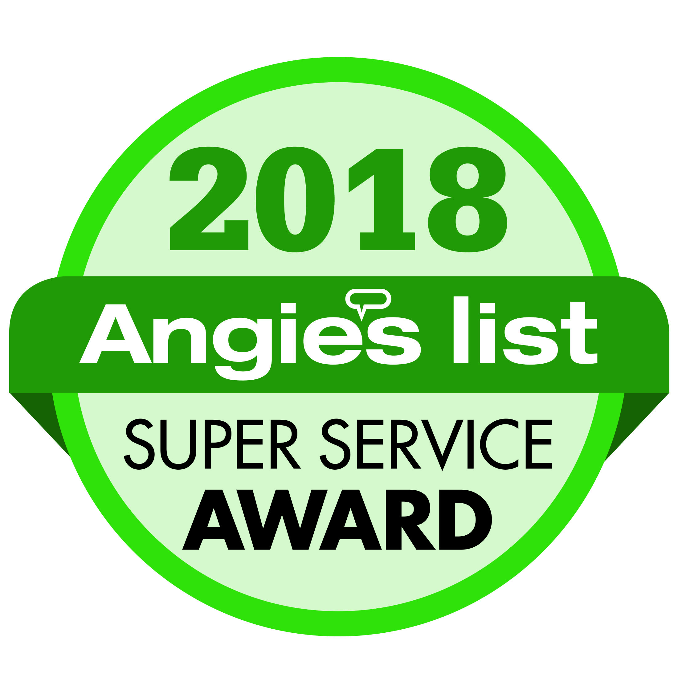 Superior Office Cleaning - Super Service Award 2018